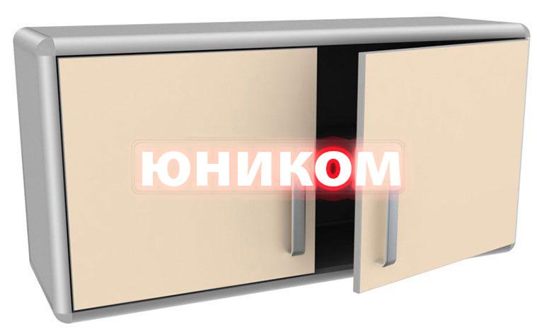 Шкаф медицинский навесной (дверцы - ЛДСП) ШМН-2 (Серия ИДЕАЛ)