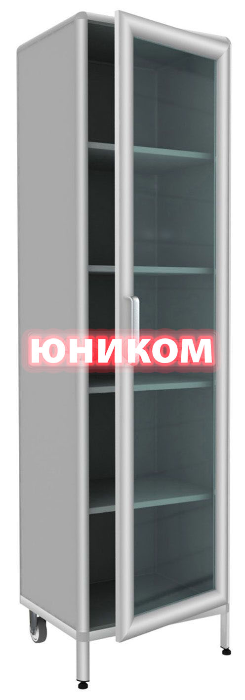Шкаф медицинский одностворчатый ШМ-1 (Серия ИДЕАЛ)