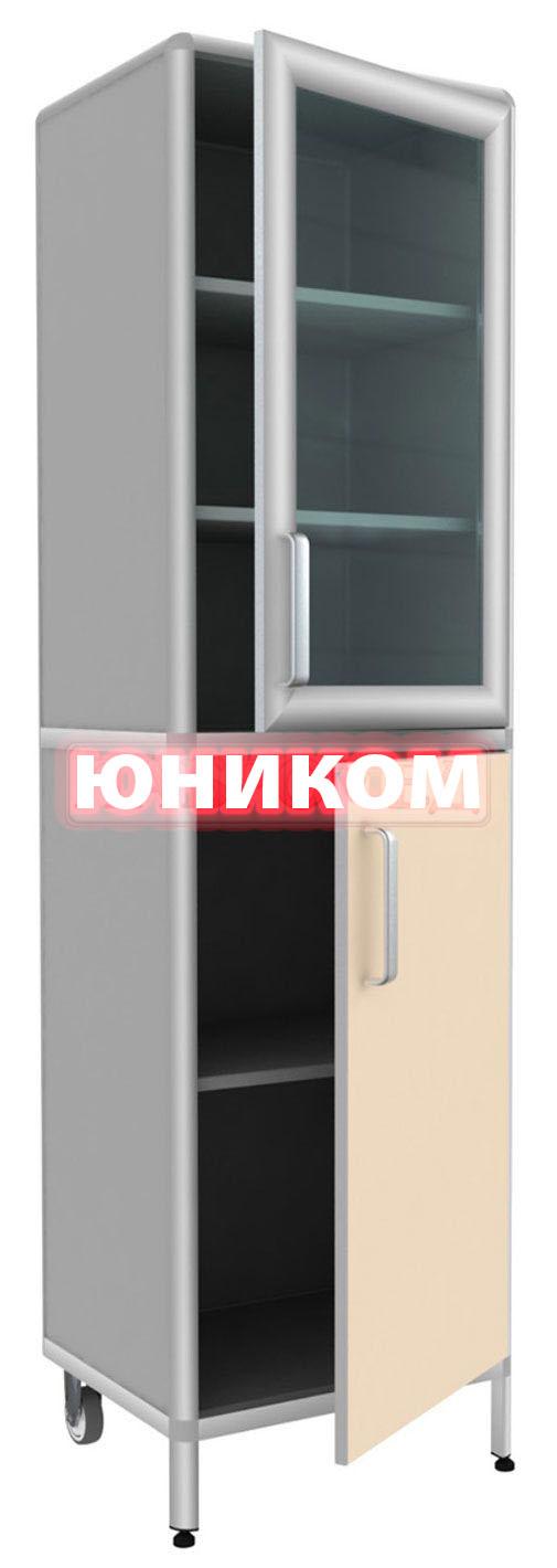 Шкаф медицинский одностворчатый ШМ-2 (Серия ИДЕАЛ)