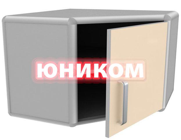 Шкаф медицинский одностворчатый с сейфом и столешницей ШМ-3 (Серия ИДЕАЛ)