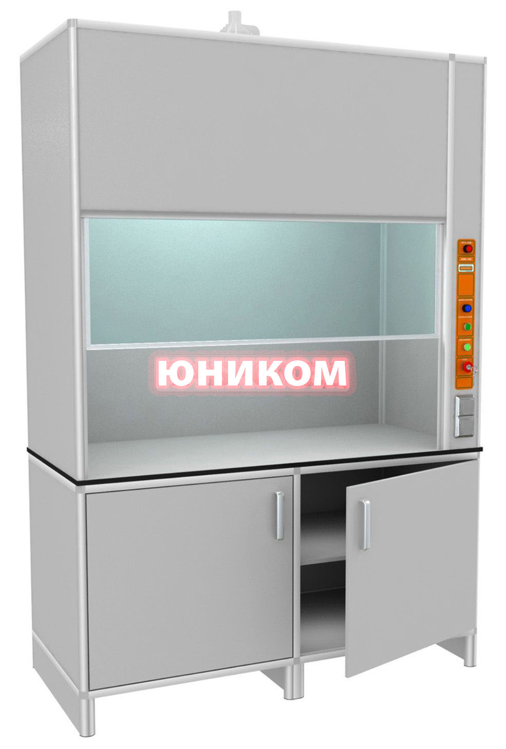 Шкаф лабораторный вытяжной ШВ 1500/П (Серия ИДЕАЛ)