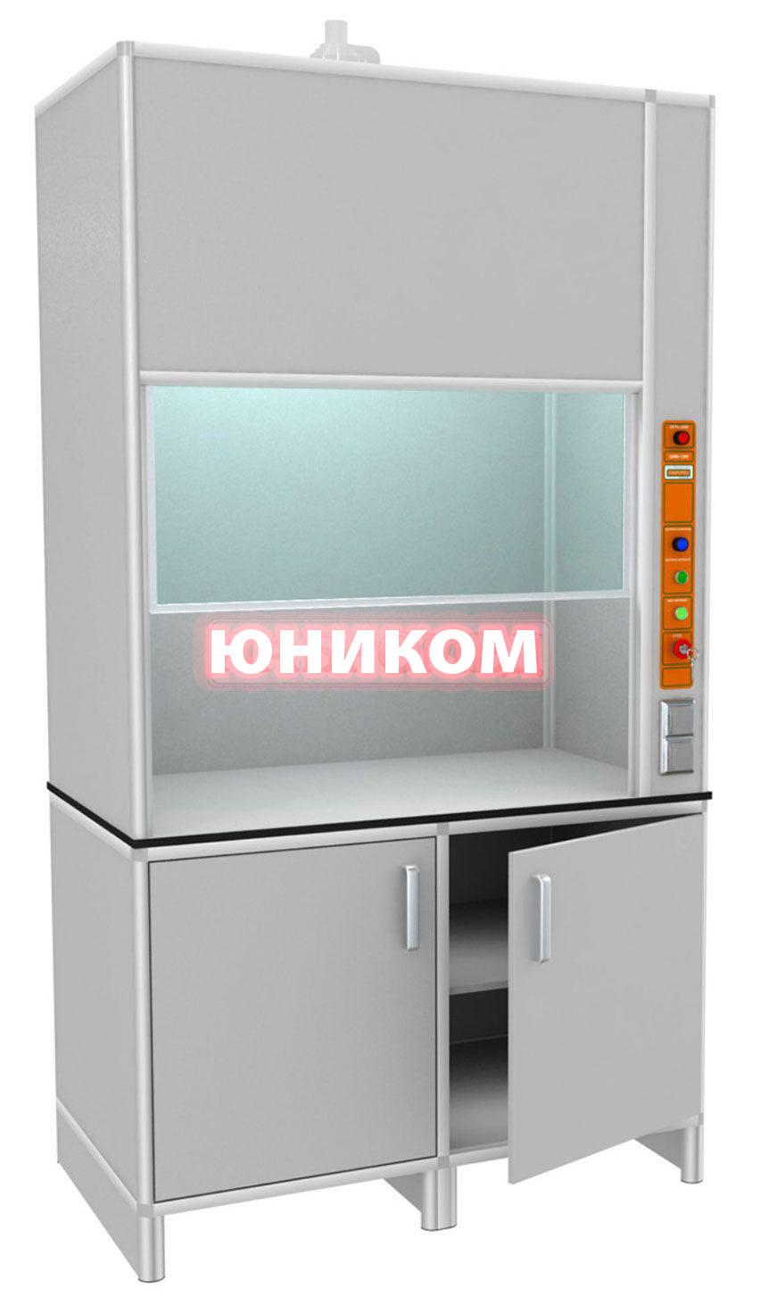 Шкаф лабораторный вытяжной ШЛВ-1/П (Серия ИДЕАЛ)