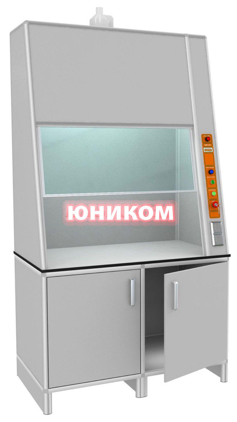 Шкаф лабораторный вытяжной ШЛВН-1/П (Серия ИДЕАЛ)